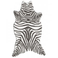 The Rug MarketResort Zebra25258DGrey-White
