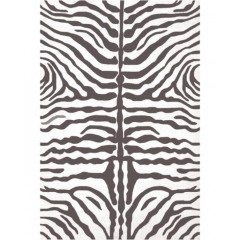 The Rug MarketResort Zebra25354DGray-White