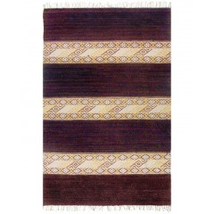 The Rug MarketSeneca 04200DBrown-Tan