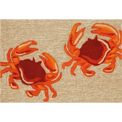 Trans OceanFrontporch1404/12 Crabs Natural