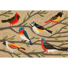 Trans OceanFrontporch1440/44 Birds Multi