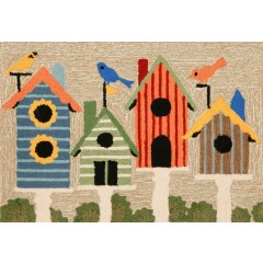 Trans OceanFrontporch1441/44 Birdhouses Multi