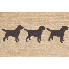Trans OceanFrontporch1467/48 Doggies Black