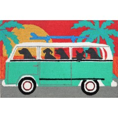 Trans OceanFrontporch1475/04 Beach Trip Turquoise