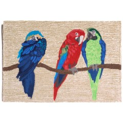 Trans OceanFrontporch1492/44 Parrots Bright