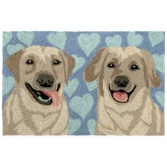 Trans OceanFrontporch1499/03 Puppy Love Blue
