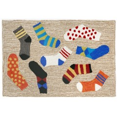 Trans OceanFrontporch1541/94 Lost Socks Multi