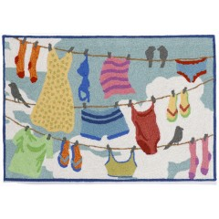 Trans OceanFrontporch1542/44 Clothes Line Multi
