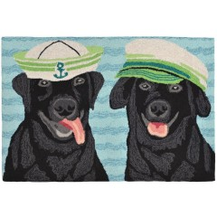Trans OceanFrontporch1574/48 Salty Dogs Black