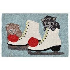 Trans OceanFrontporch1823/11 Skates And Kittens Ice