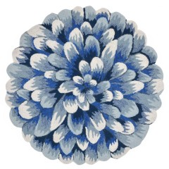 Trans OceanFrontporch1828/03 Mum Blue