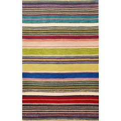 Trans OceanInca9441/24 Stripes Red/Multi