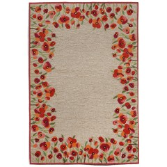 Trans OceanRavella2259/24 Poppies Red
