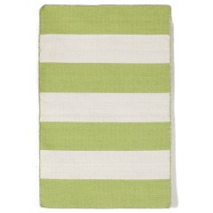 Trans OceanSorrento6302/16 Rugby Stripe Lime