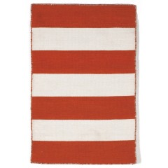 Trans OceanSorrento6302/17 Rugby Stripe Paprika
