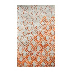 Dynamic RugsVogue881003-133Grey-Rust