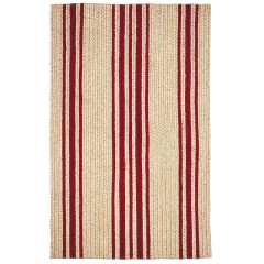HomespiceJute BraidedBaker FarmhouseRed
