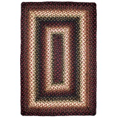 HomespiceJute BraidedPrescottRed - Brown