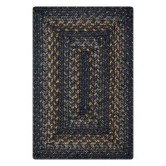 HomespiceJute BraidedRavenGrey-Gold