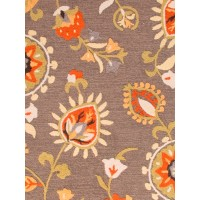 Jaipur Rugs Blossom Amhurst BSM13 Gray/Orange