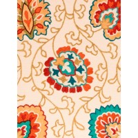Jaipur Rugs Blossom Elliot BSM10 Ivory/Orange