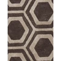 Jaipur Rugs City Rancho CT88 Dark Gray