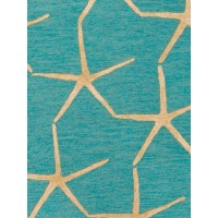 Jaipur Rugs Coastal Resort Starfishing COR27 Blue/Yellow