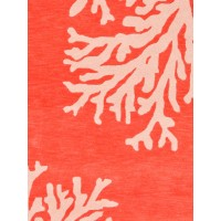 Jaipur Rugs Coastal Seaside Bough COS02 Orange/Ivory