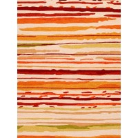 Jaipur Rugs Colours Sketchy Lines CO18 Red/Orange