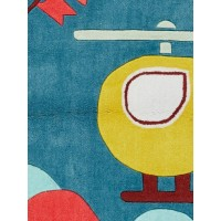 Jaipur Rugs Iconic By Petit Collage By Air IBP12 Blue/Yellow