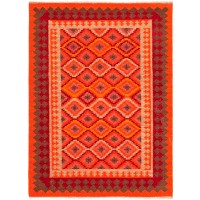 Jaipur Rugs Anatolia Izmir AT06 Orange-Red
