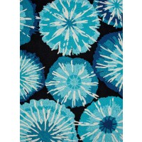 Jaipur Rugs Barcelona Starburst BA22 Blue-Black