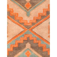 Jaipur Rugs Preston Jameson PRS05 Taupe/Orange